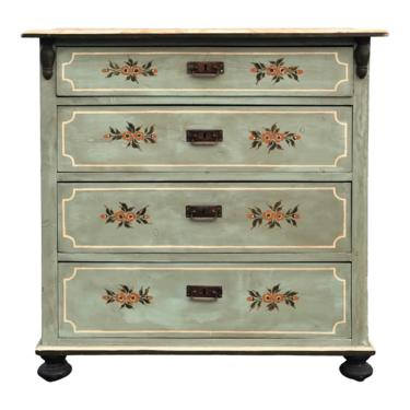 Swedish Pine Gustavian Style Painted Chest of Drawers by 2ndStoryTradingCo