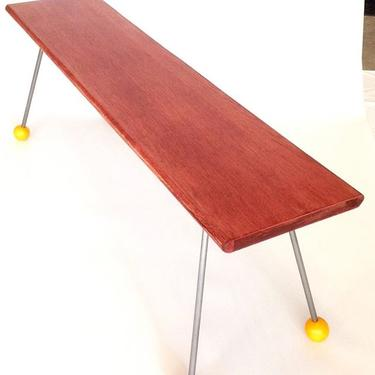 Narrow Coffee Table. Available at the Etsy store for $200.00.