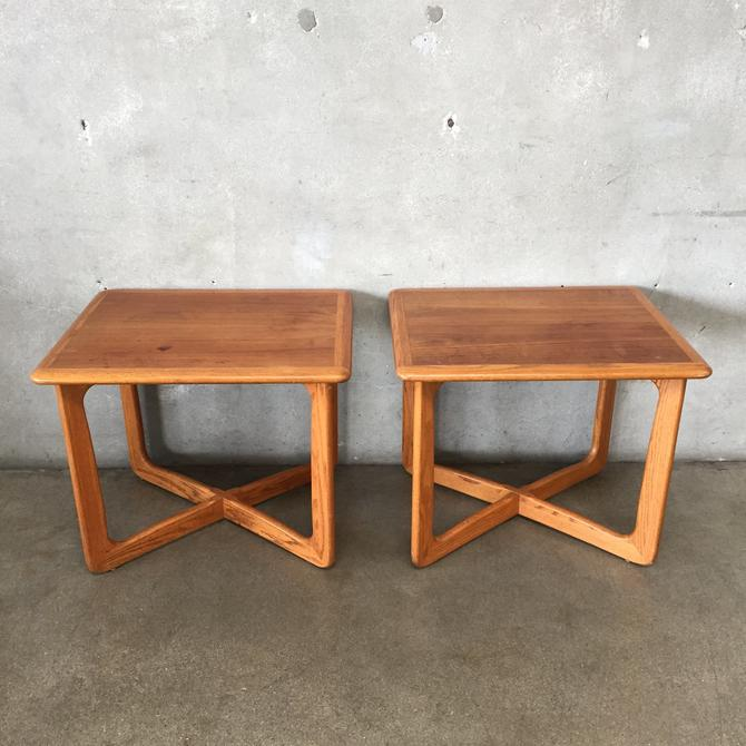 Pair of Lane Mid Century Side Tables