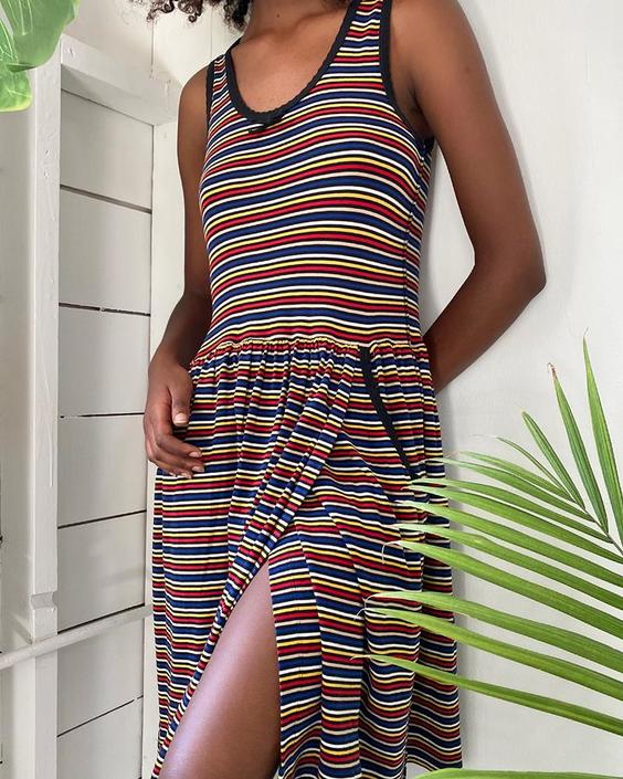 80s Sonia Rykiel T-Shirt Dress