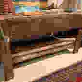 1800's workbench, 5' l x 2' d x 31