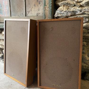 Mid century wall mount speakers Nutone speaker mid century audio by VintaDelphia