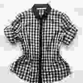 Y2K Akris Punto Gingham Shirt by waywardcollection
