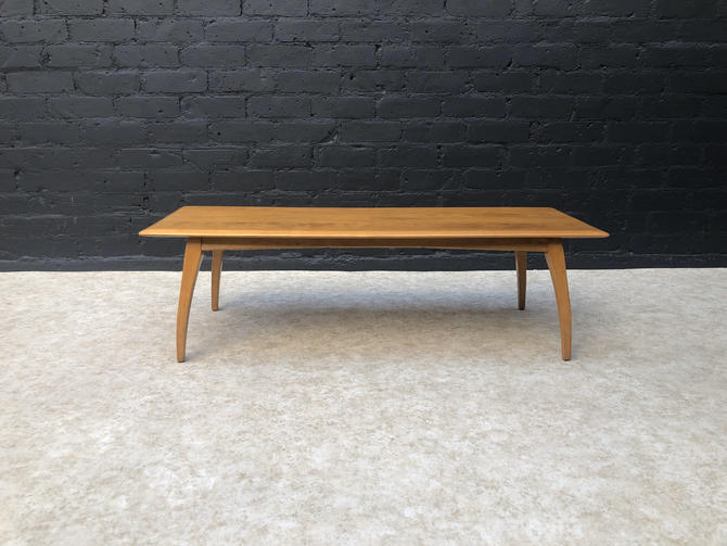Vintage Coffee Table by Heywood Wakefield by VintageSupplyLA