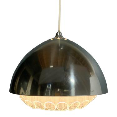Nimbus / Beehive Pendant Lamp by George Nelson and Associates Mid Century