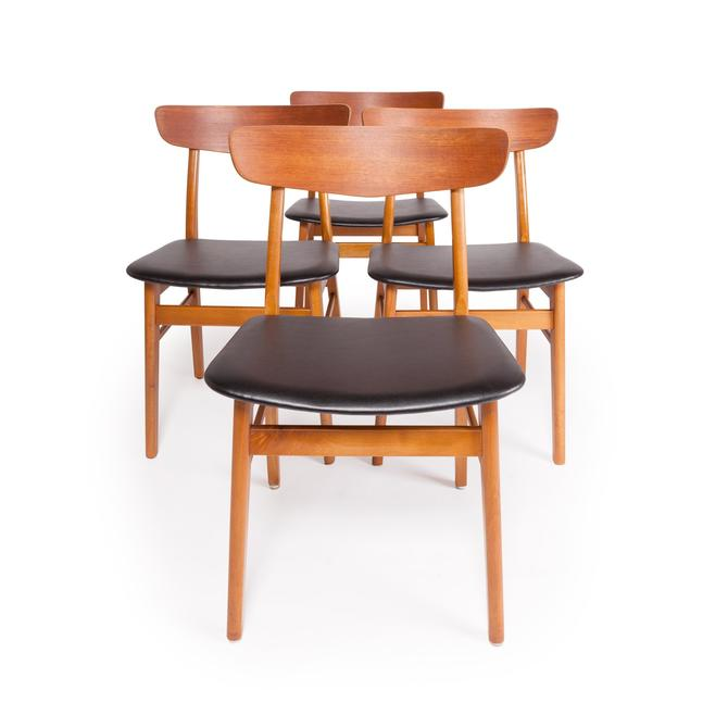 Vintage Danish Modern Farstrup Dining Chairs by MCMSanFrancisco
