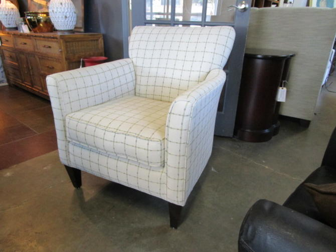 PAIR OF UPHOLSTERED CLUB CHAIRS PRICED SEPERATLEY