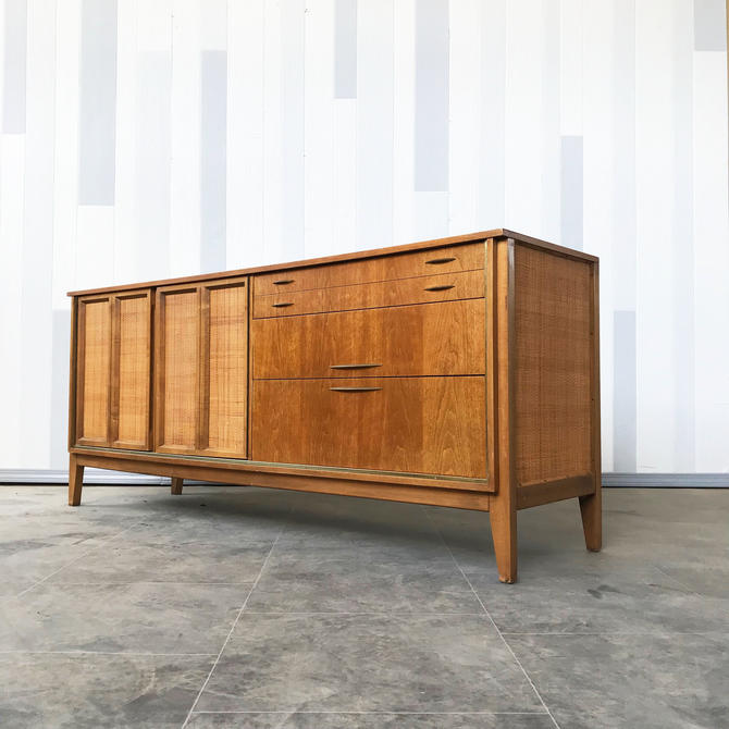 Mid Century Walnut Dresser by West Michigan Furnit
