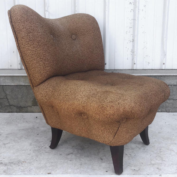Vintage Modern Slipper Chair by secondhandstory