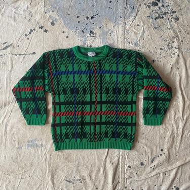 Vintage 80s Renaissance Knitwear Made in USA Crewneck Sweater by NorthGroveAntiques