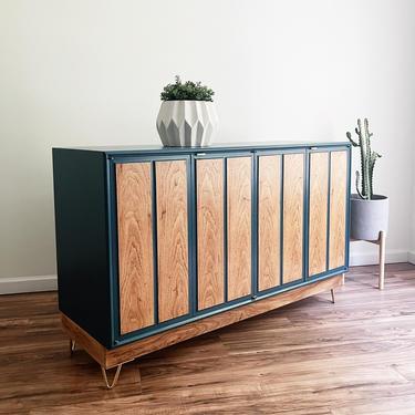 Mid-Century Modern Sideboard Buffet - Credenza by madenewdesignct