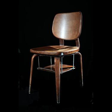 """Plebe"" Bentwood Student Chair - U.S. Naval Academy"