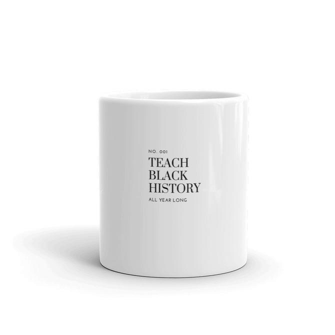 White glossy mug by KeepersVintage