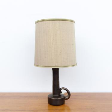 Sweet Little W. German Ceramic Table Lamp