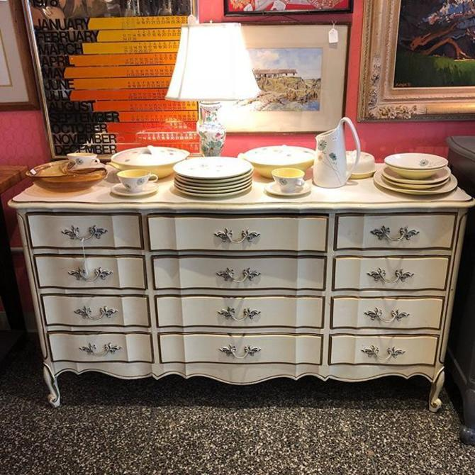 Cream French provincial dresser! $425!