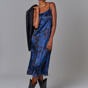 Stevie Slip Dress | Midnight Peonies
