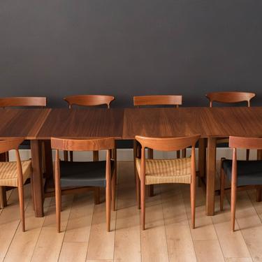 Mid-Century Modern Walnut Extending Drop Leaf Dining Table by MidcenturyMaddist