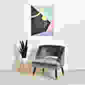 """""""Maddie"""" Chair in Grey"""