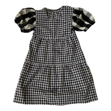 SARAFINA DRESS - plaid