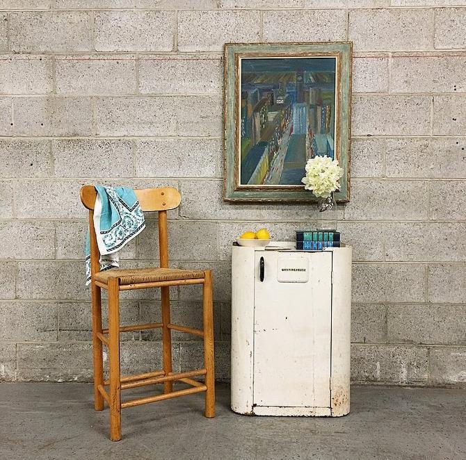 Vintage Westinghouse Metal Cabinet Retro 1950's Kitchen or Bathroom Shelving Unit Roaster LOCAL PICKUP ONLY by RetrospectVintage215