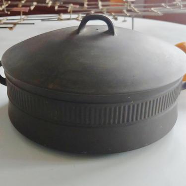 Vintage Dansk Flamestone 5 Quart Covered Casserole Dish by Jens Quistgaard by ModandOzzie