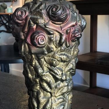 Floral Glass Vase