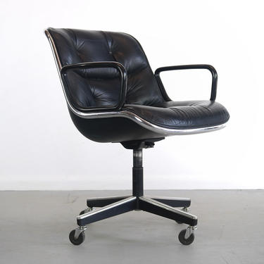 Mid Century Modern Knoll Office Chair by Charles Polluck, USA by ABTModern