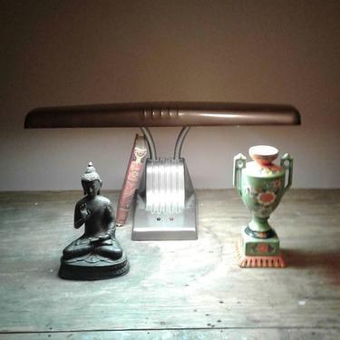 Vintage deco industrial desk lamp