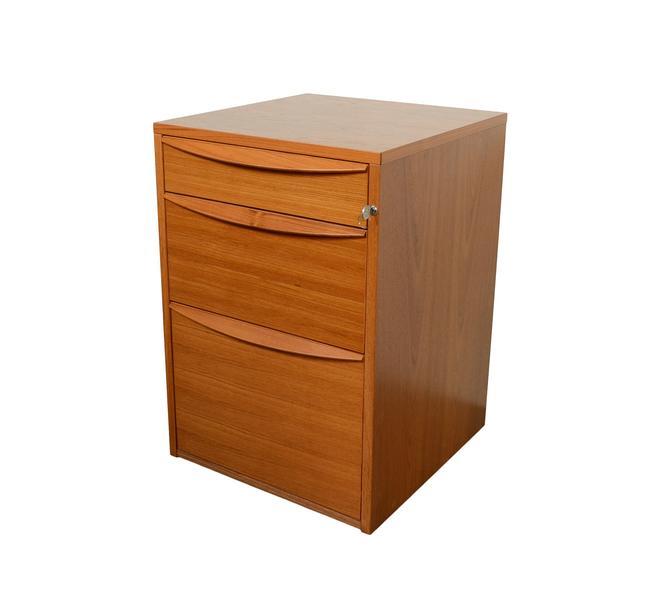 Teak File Cabinet Jesper Danish Modern by HearthsideHome