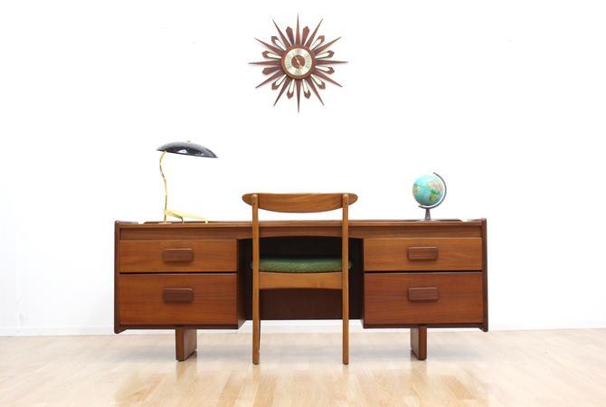 Mid Century Desk/Vanity by White & Newton by SputnikFurnitureLLC