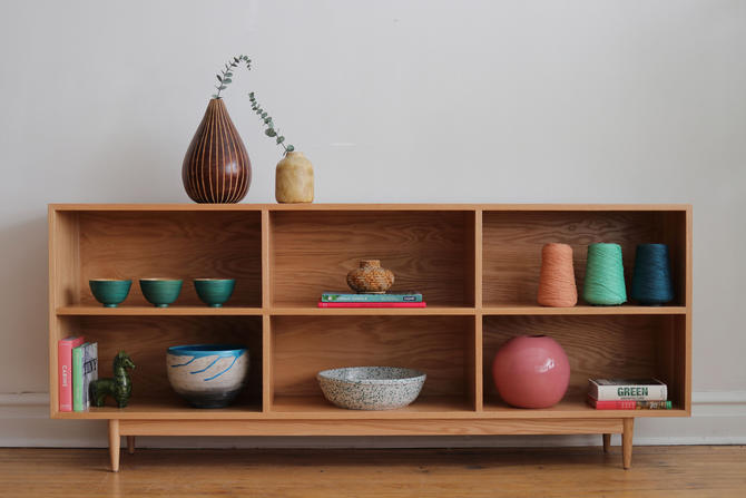 Handmade Mid Century Modern Inspired Bookshelf - GEORGIA by SharkGravy