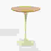 Eero Saarinen Tulip Side Table with Oak Top