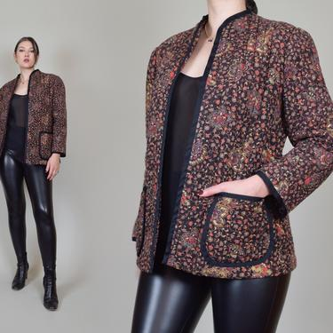 Vintage Quilted Jacket | 1970's Quilted Jacket by WisdomVintage