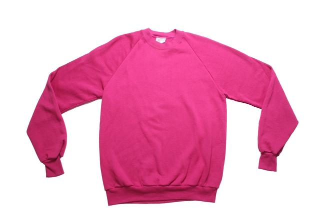 80's Magenta Sweatshirt