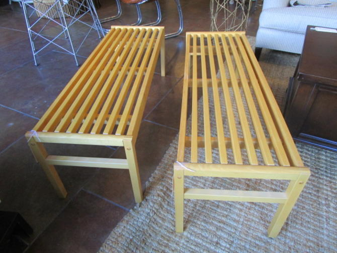 TWO HOUSE OF DENMARK BENCHES PRICED SEPARATELY