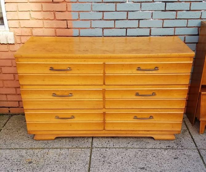 Six Drawer Mid-Century Dresser, $215.