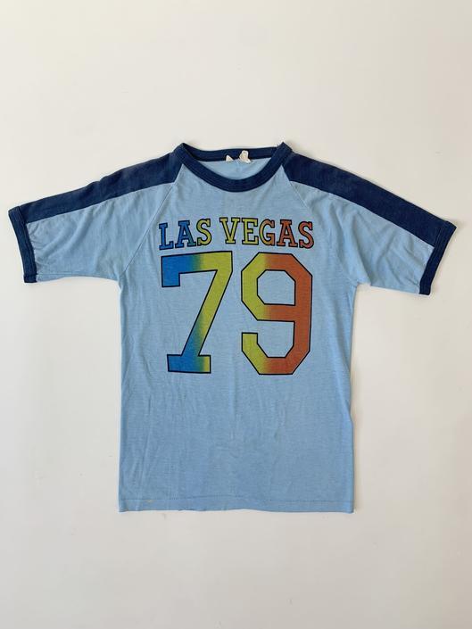 "Baby Blue Las Vegas ""79"" Tee"
