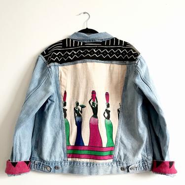 Goddess Tribe Jean Jacket