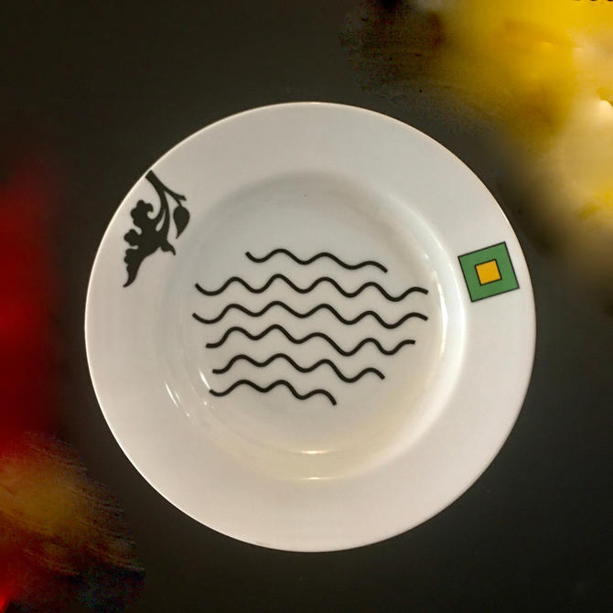 """A Vintage Ettore Sottsass Designed Modern Porcelain Deep Dish """"Medici"""" for Swid Powell by modern2120"""