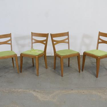 Set of 4 Mid-Century Modern Heywood Wakefield Dining Chairs by AnnexMarketplace