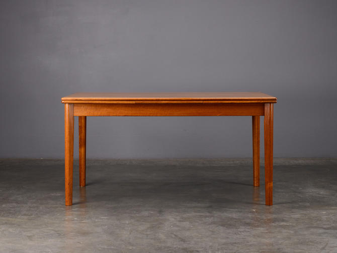 5ft. Mid Century Dining Table with Leaves Danish Modern by MadsenModern
