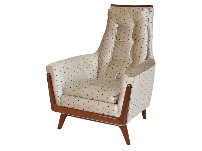 Mid century chair inspired by Adrian Pearsall made by Rowe by RetroPassion21