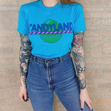90's Vintage Candyland Daycare Promo Tee by NoteworthyGarments
