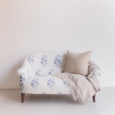 Vintage Block Print Sofa
