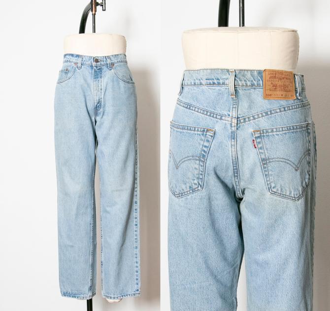 """1990s Levi's 550 JEANS Cotton Denim Relaxed Fit 33"""" x 13"""" by dejavintageboutique"""