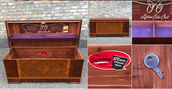Extra-large Waterfall Cedar Chest