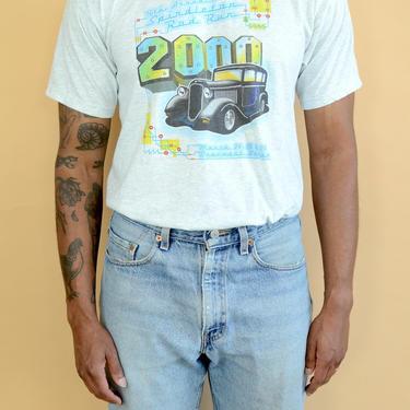 Vintage 2000s Hot Rod Beaumont Texas Car Tee T Shirt Medium by MAWSUPPLY