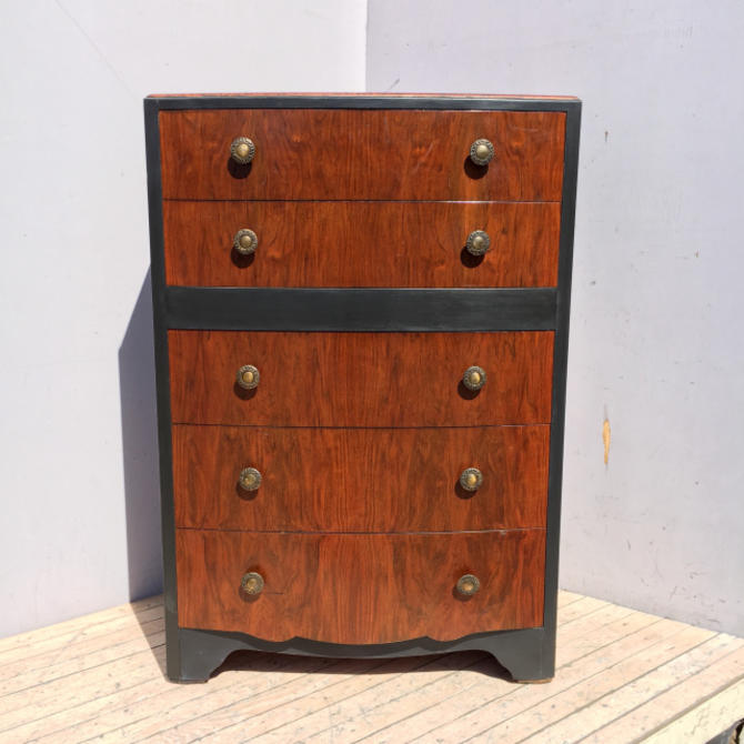 5-Drawer Two-Tone Dresser