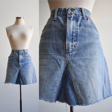 Vintage Wrangler Denim Skirt by milkandice