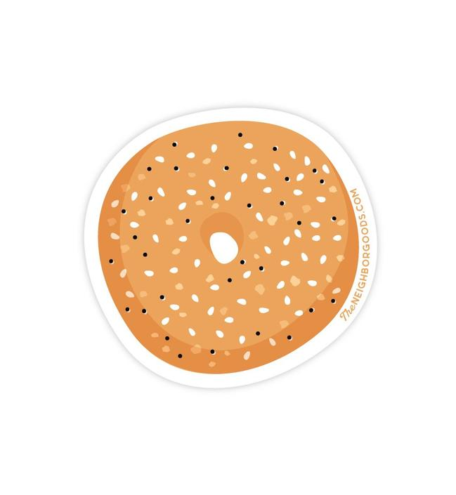 Bagel Sticker